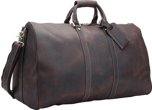 Pratt Leather Weekender Duffle