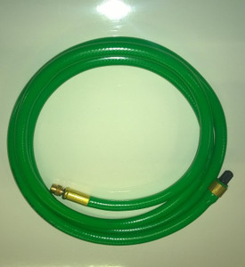 2m (6.5') Inflation extension hose for Schrader style air bags