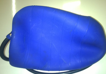 """PVC Centre Test Air Bag 8"""" to 12"""" (200mm to 300mm)"""