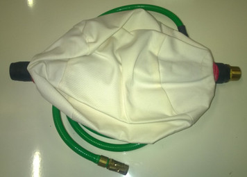 "Canvas Test Air Bag 9"" (225mm)"