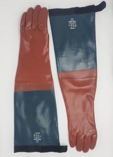 Long John Arm Length PVC Gauntlets 64cm