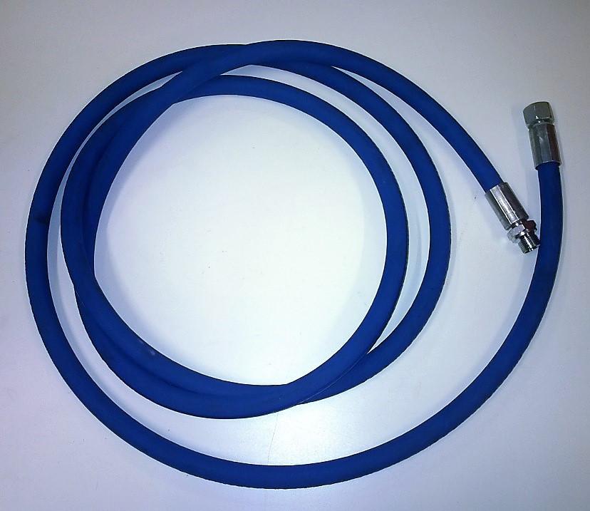 Blue Safety Leader Hose 3/8