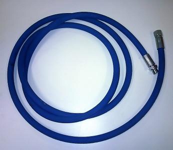 "Blue Safety Leader Hose 3/8"" BSP m/fm Connections 3m Long"