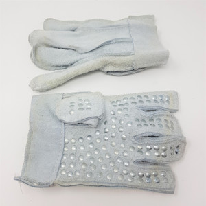 Staple Palm Chrome Leather Gloves