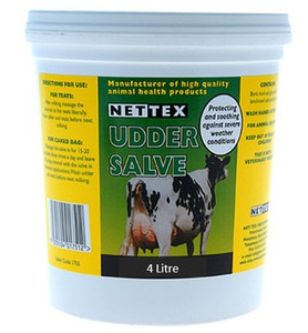 4 Litre Tub of Udder Cream (for protecting Packers)