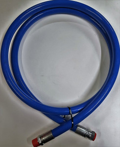 "Blue Safety Leader Hose 1"" BSP m/fm Connections 3m long"
