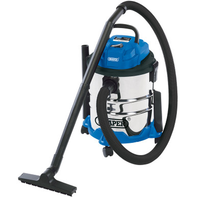 20L 1250W 230V WET AND DRY VACUUM