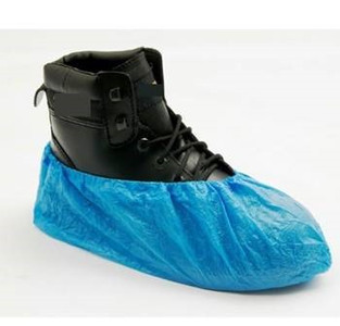 Overshoes CPE Blue - 100 Units (50 pairs)