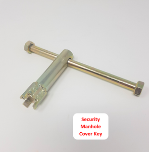 Tri-Tip Security Manhole Key