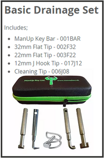 ManUp Key™ Drainage Set
