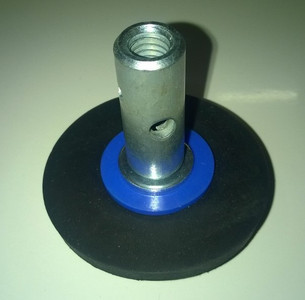 75mm Rubber Plunger for 5mm Steelkane Rods