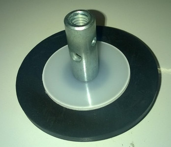 100mm Rubber Plunger for 6mm Steelkane Rods