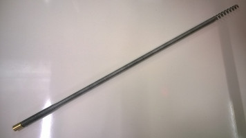 Flexible Coiled Spring Leading Rod - for use with 8mm & 10mm Steelkane Rods