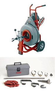 Ridgid K-7500 w/C-24 Drum Machine (230v) 61512