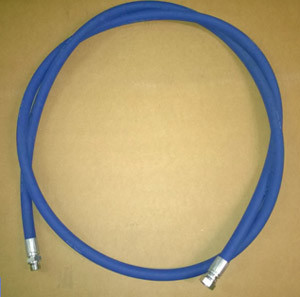 "Blue Safety Leader Hose ½"" BSP m/fm Connections 3m Long"