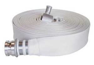 """5m x 63mm (2 ½"""") Hydrant Hose with Male & Female Instantaneous connectors"""