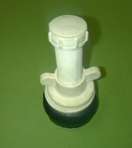 "50mm with Nylon Body and ½"" outlet"