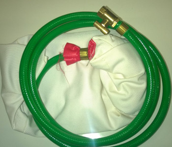 """12"""" (300mm) with 6' inflation tube and brass tap connector"""