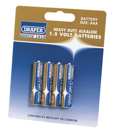 AAA Batteries (Pack of 4)