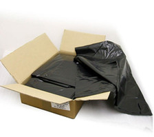 Compactor Sacks Black Polythene Extra Heavy Duty - Box of 100