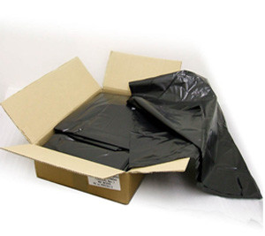 Compactor Sacks Black Polythene Extra Heavy Duty - Box of 100