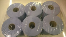 Blue Roll Paper Towel - 6 Roll Pack