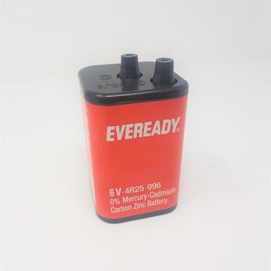6v 4R25 or PJ996 battery