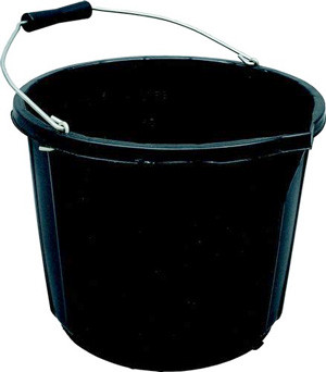 Bucket Industrial 3 gallon 14L Black