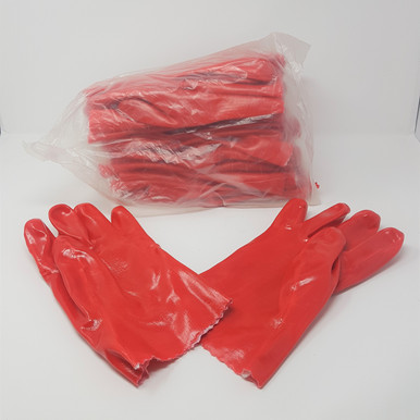 "PVC Gauntlets 11"" - Pack of 12 pairs"