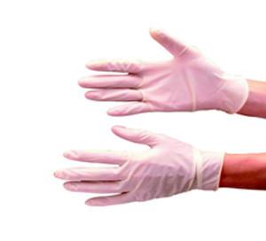 Latex Gloves - Box of 100 Pairs