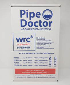 Pipe Doctor Straight Kit 70-103mm
