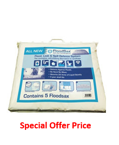 FLOODSAX®- 20ltr Sandless bag 540 x 450mm (Pk-5)