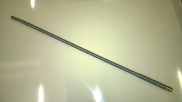 Flexible Coiled Spring Leading Rod for use with Lockfast Rods