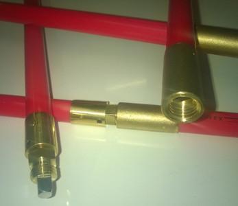 Nuflex Lockfast Rod - 1.0 m long x 22 mm
