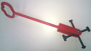 Multi-Tip Manhole Lifting Key - 600mm