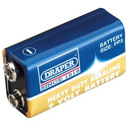 Heavy Duty 9v PP3 Battery
