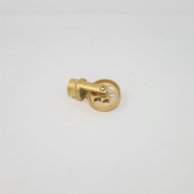 Brass Clearing Wheel for Universal Rods