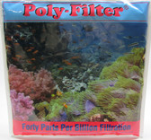 "Poly Bio Marine Products 12"" x 12"" Poly Sheet Filter Pad for Aquariums"