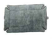 K&H Pet Products Memory Foam Crate Pad, Grey, 14 Inch x 22 Inch