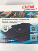 Eheim Activated Carbon Pads for 2071-2075/2074/Pro 4/2271/2272/2273/2274/2275