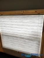 Blinds Ice Castle 30x27 Window GRAY  28.25x26