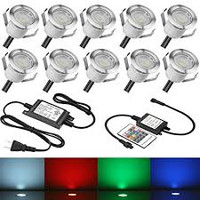 LED Deck Lights, Small, 10ct