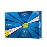 2019 ERC Soft Yellow Golf Balls