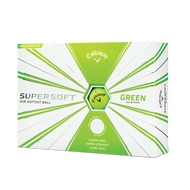 2019 Callaway Supersoft Matte Green Golf Balls
