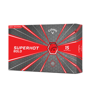 2019 Superhot Bold Matte Red 15-Pack Golf Balls