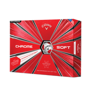 2019 Chrome Soft Truvis Red Golf Balls