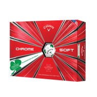 2019 Chrome Soft Shamrock Truvis Golf Balls