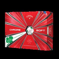 2019 Chrome Soft Shamrock Truvis Golf Balls