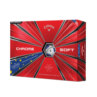2019 Chrome Soft European Truvis Golf Balls