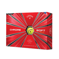2019 Chrome Soft Yellow Golf Balls